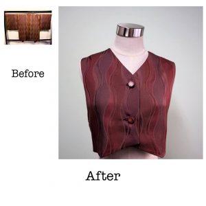 羽織のリメイク