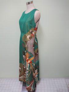 振袖をリメイク後のドレス